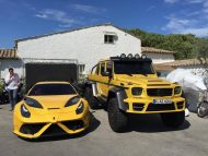 mansory tuning amg yellow 2 190x143 Mercedes G63 AMG 6×6 Gronos vom Tuner Mansory