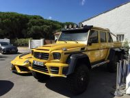 mansory tuning amg yellow 3 190x143 Mercedes G63 AMG 6×6 Gronos vom Tuner Mansory