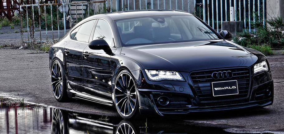 AUDI A7 Sportback Wald Internationale Bodykit 1 Getunter AUDI A7 Sportback von Wald Internationale