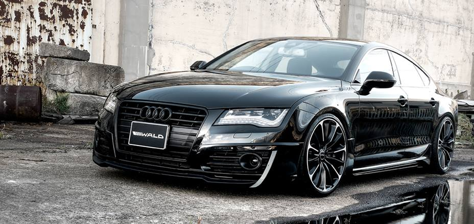 AUDI A7 Sportback Wald Internationale Bodykit 2 Getunter AUDI A7 Sportback von Wald Internationale
