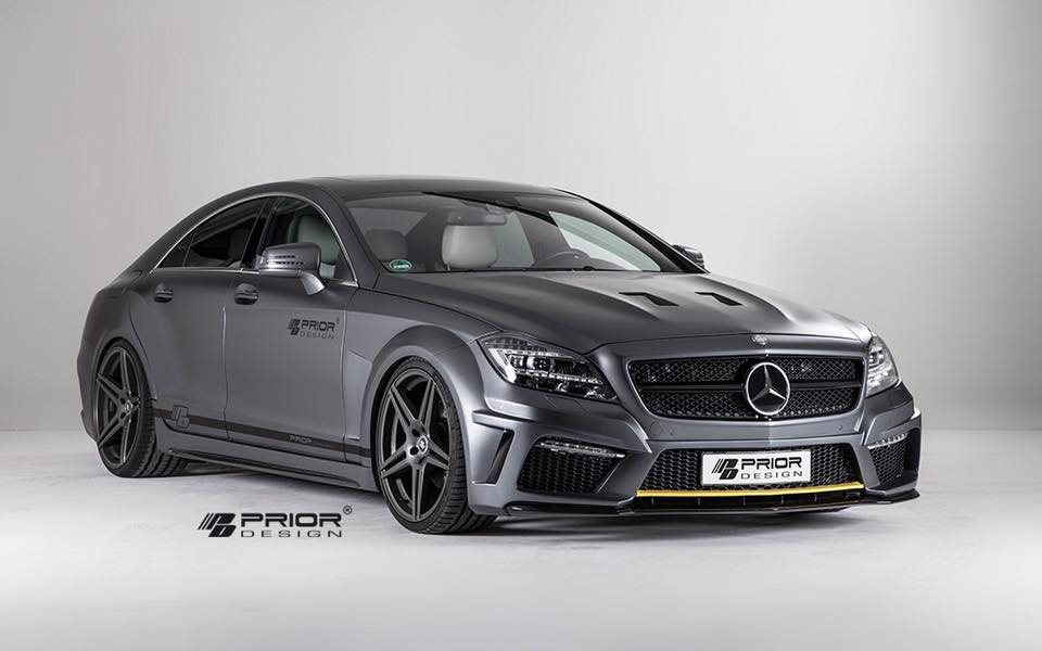 Prior Design Mercedes CLS PD550 1 Prior Design zeigt schicken Mercedes CLS