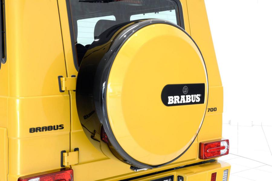 Brabus Mercedes G63 700 Solarbeam Yellow Crazy Color G700 Tuning 12