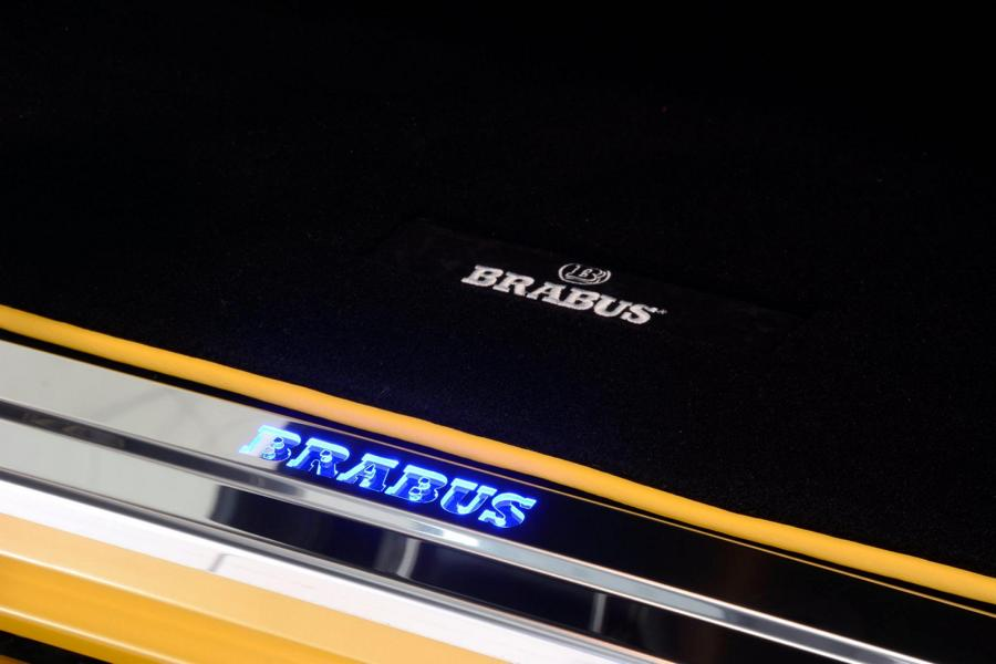 Brabus Mercedes G63 700 Solarbeam Yellow Crazy Color G700 Tuning 15