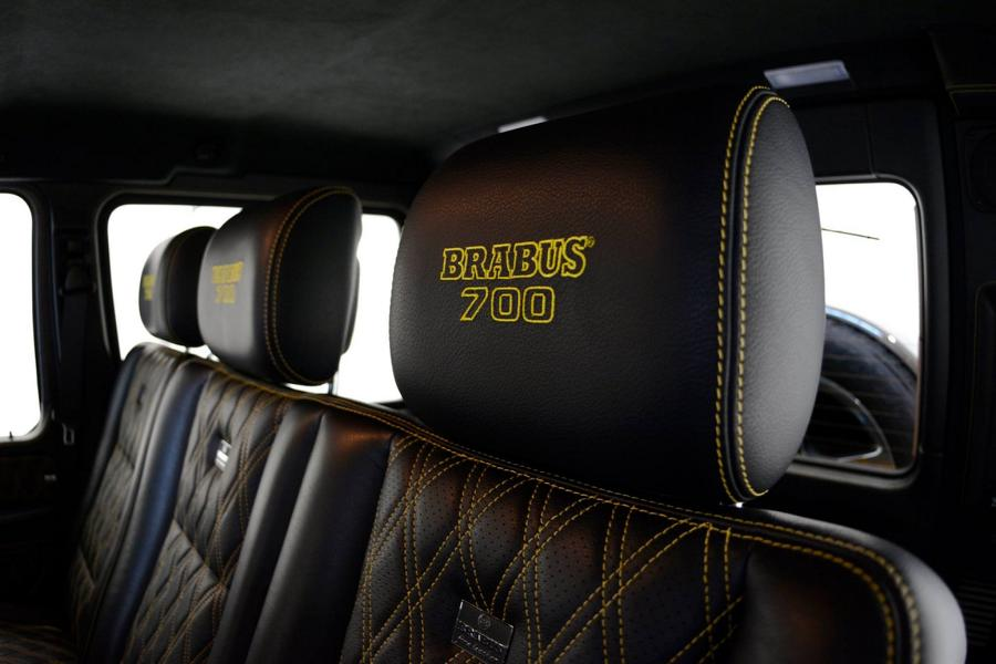 Brabus Mercedes G63 700 Solarbeam Yellow Crazy Color G700 Tuning 17