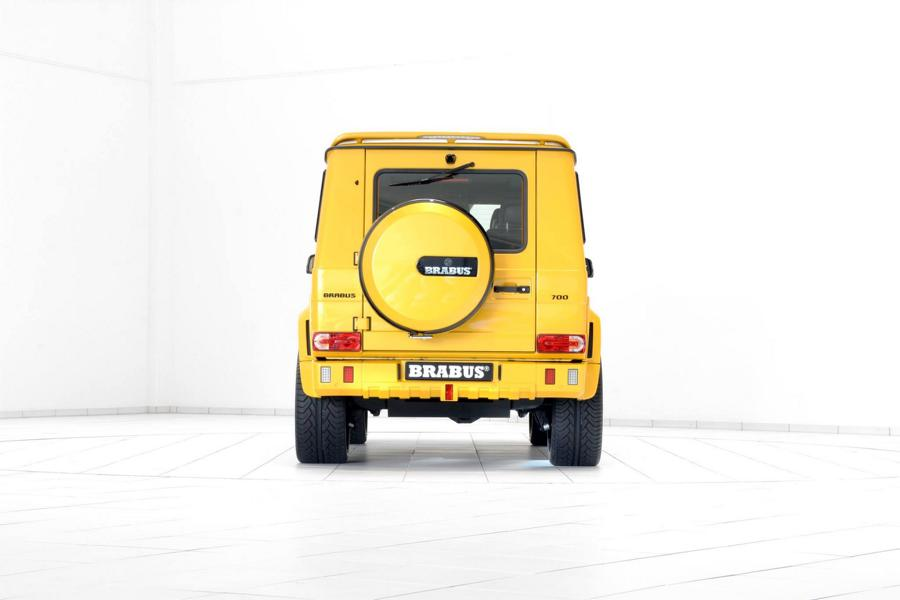 Brabus Mercedes G63 700 Solarbeam Yellow Crazy Color G700 Tuning 18