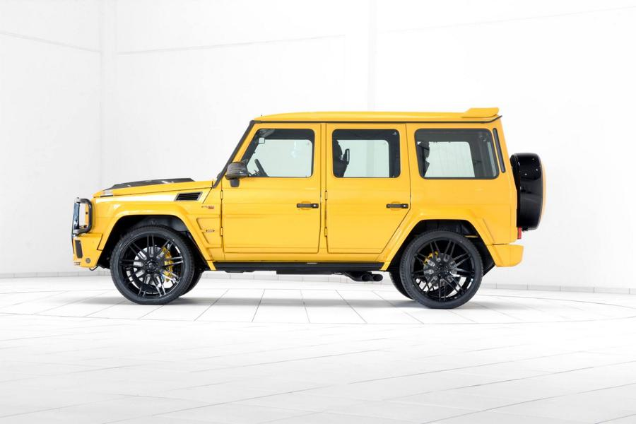 Brabus Mercedes G63 700 Solarbeam Yellow Crazy Color G700 Tuning 2