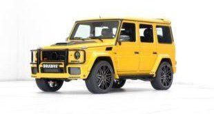 Brabus Mercedes G63 700 Solarbeam Yellow Crazy Color G700 Tuning 20 1 e1460962175246 310x165 Mächtiges Teil! Der Brabus B63S Widestar mit 700PS (G63 700)