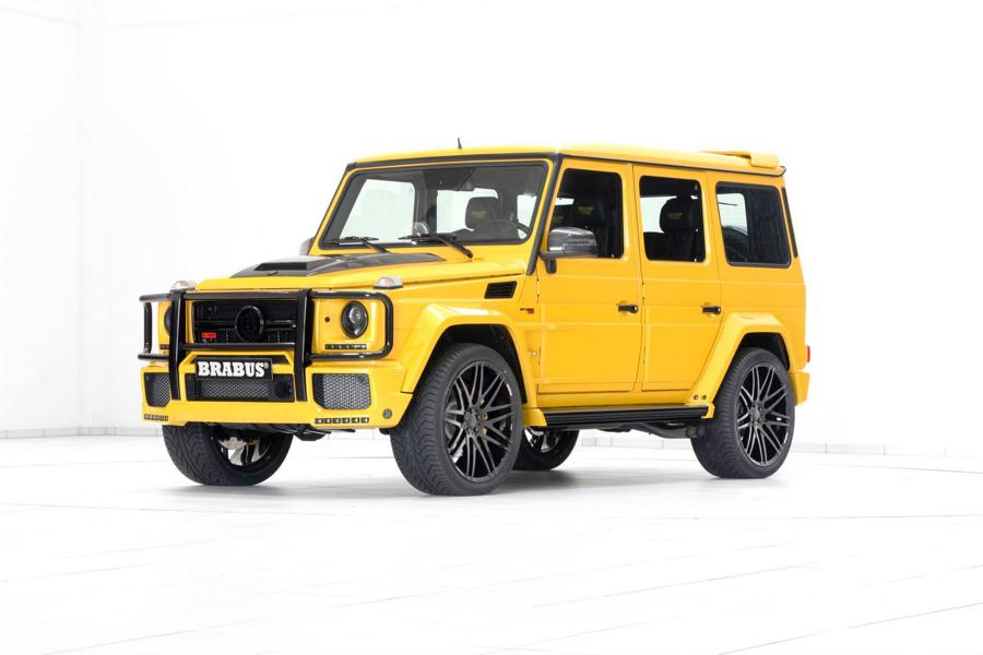 Brabus Mercedes G63 700 Solarbeam Yellow Crazy Color G700 Tuning 20