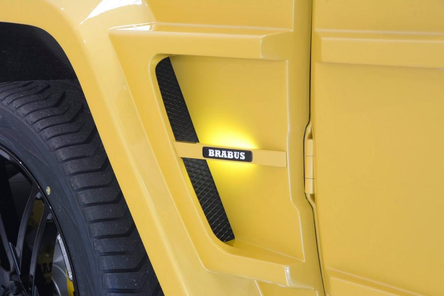 Brabus Mercedes G63 700 Solarbeam Yellow Crazy Color G700 Tuning 23