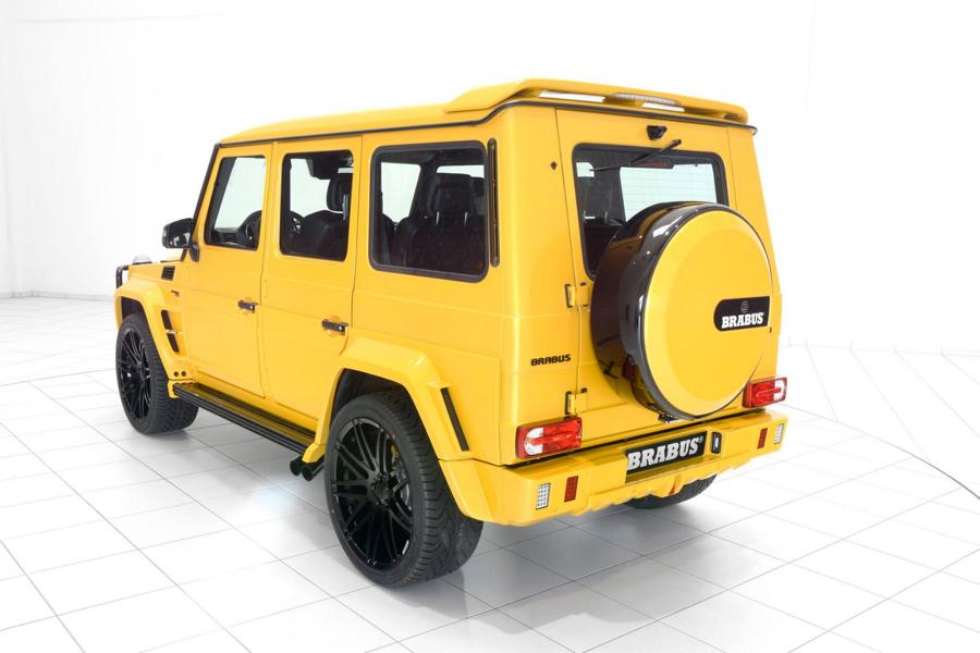 Brabus Mercedes G63 700 Solarbeam Yellow Crazy Color G700 Tuning 4