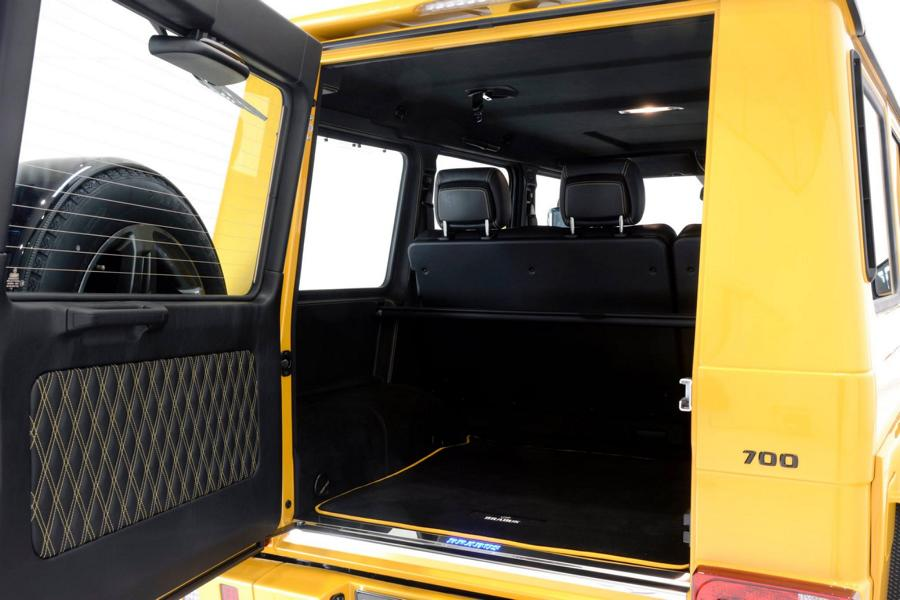 Brabus Mercedes G63 700 Solarbeam Yellow Crazy Color G700 Tuning 5