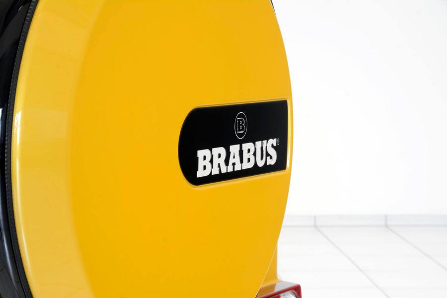 Brabus Mercedes G63 700 Solarbeam Yellow Crazy Color G700 Tuning 6