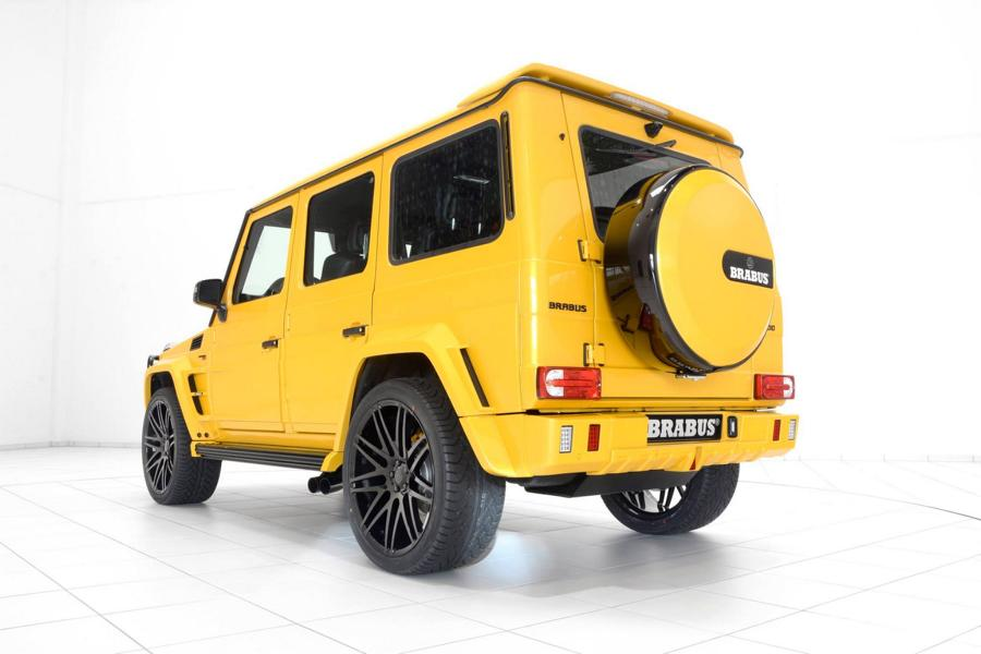 Brabus Mercedes G63 700 Solarbeam Yellow Crazy Color G700 Tuning 7