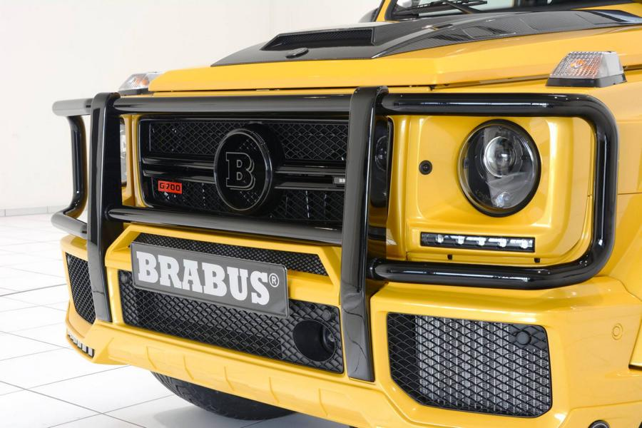 Brabus Mercedes G63 700 Solarbeam Yellow Crazy Color G700 Tuning 9
