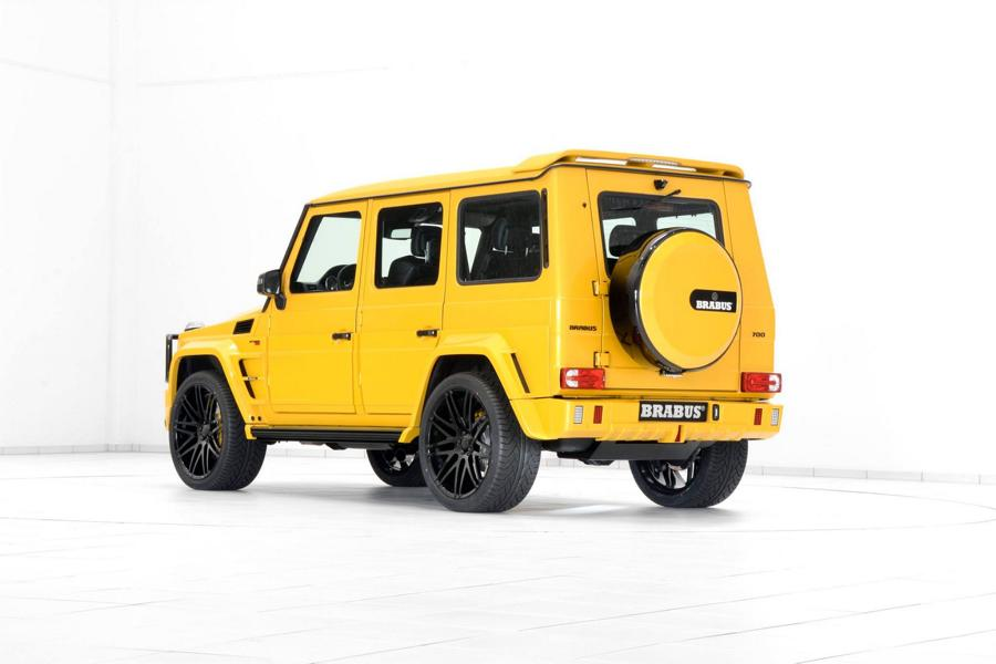 Brabus Mercedes G63 700 Solarbeam Yellow Crazy Color G700 Tuning24