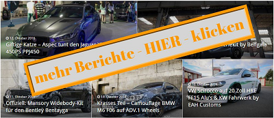 online Shop Mercedes Benz ML63 AMG vom Tuner TOPCAR mit Widebody Kit
