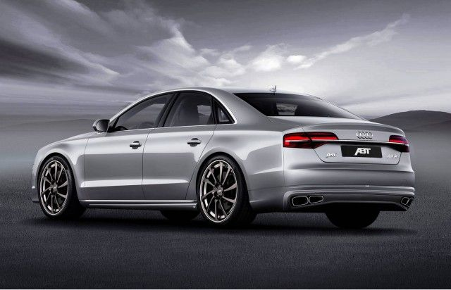 ABT A8 FL 02 Audi A8 Facelift von ABT Tuning inklusive 540PS