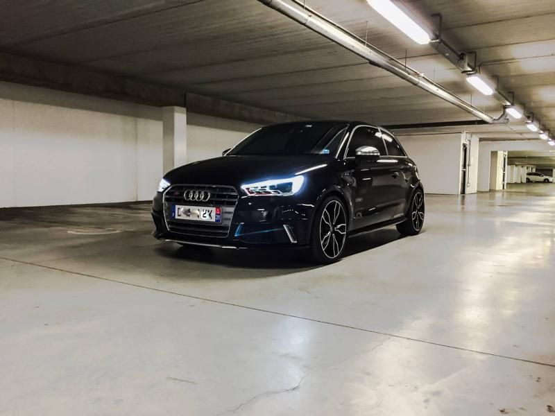 Audi A1 S1 mit 310PS ABT Sportsline Tuning 1