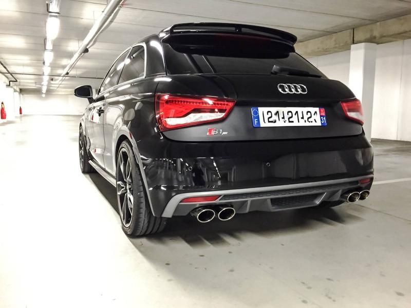 Audi A1 S1 mit 310PS ABT Sportsline Tuning 3