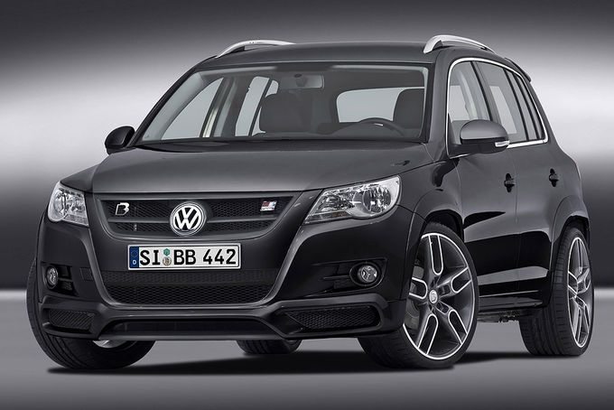 vw tiguan mit 300ps von b b tuning. Black Bedroom Furniture Sets. Home Design Ideas
