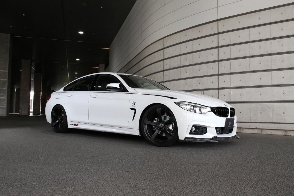 Bmw 4er gran coupe 3d design tuning f36 m sportpaket 2 for Bmw 4er gran coupe m paket