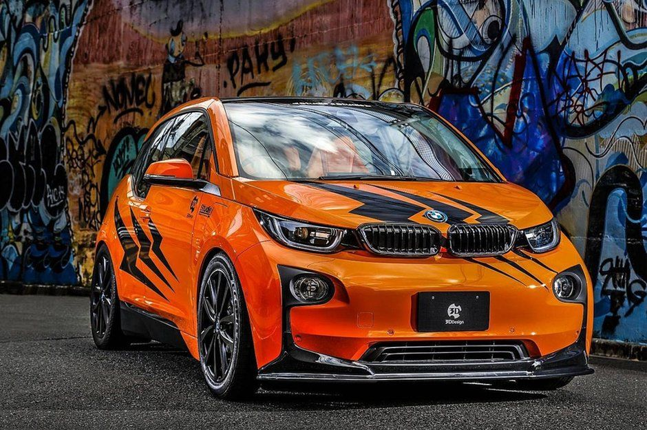 BMW I3 von 3D Design 3D Design spaciges Japan Tuning am BMW I3