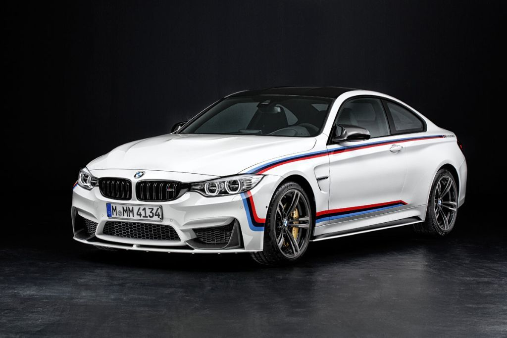 BMW M4 M Performance Parts BMW M4 2 Tuning ab Werk am BMW M4 mit Hilfe von M Performance