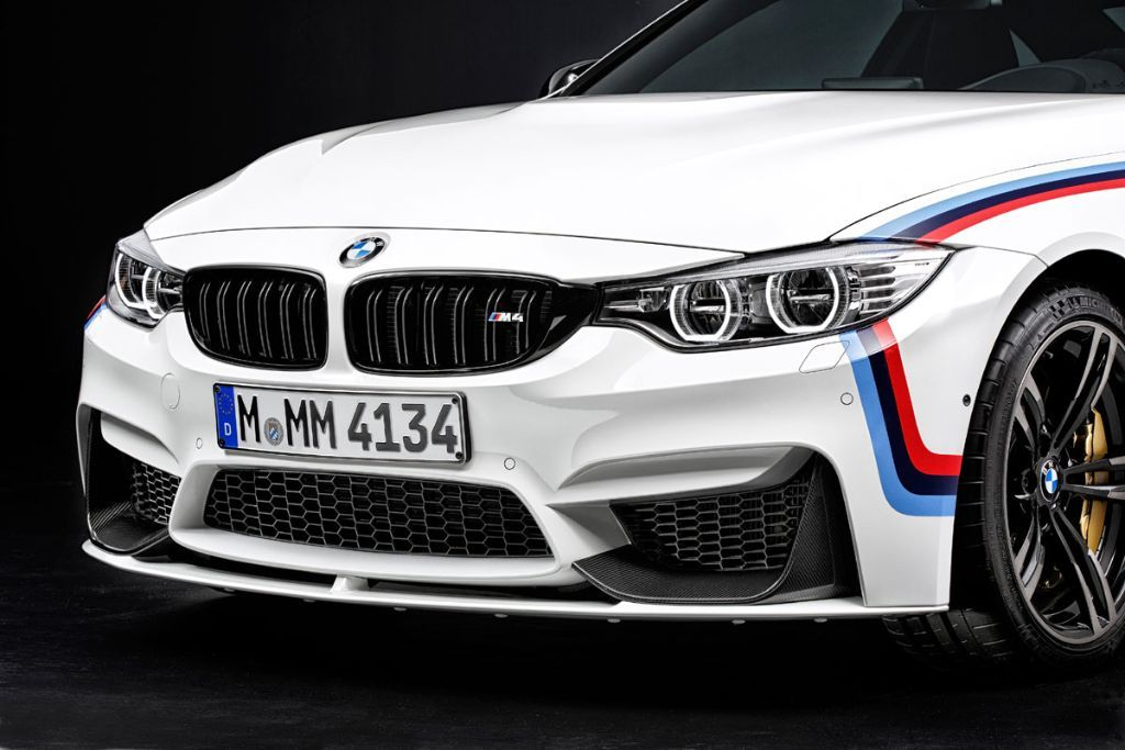 BMW M4 M Performance Parts BMW M4 3 Tuning ab Werk am BMW M4 mit Hilfe von M Performance