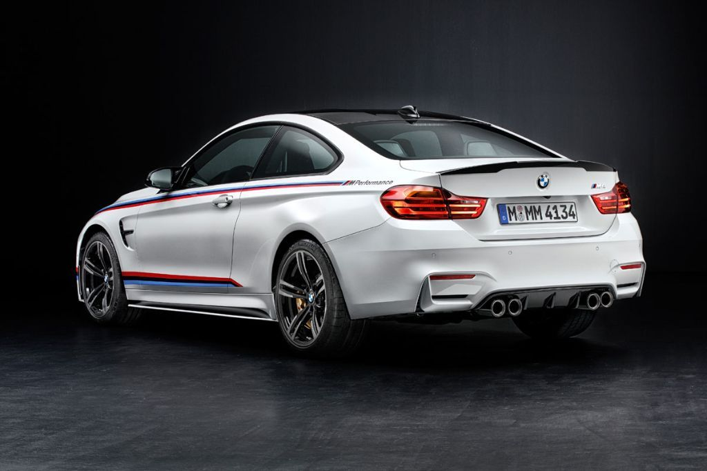 BMW M4 M Performance Parts BMW M4 5 Tuning ab Werk am BMW M4 mit Hilfe von M Performance