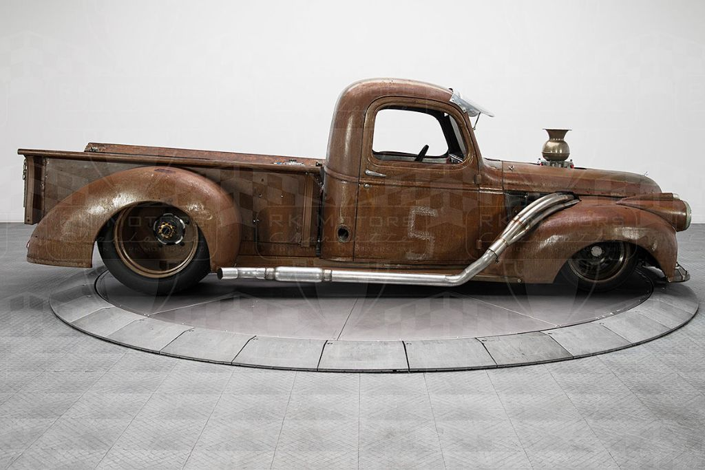 Chevrolet 3100 Pick up Truck 1947 Nascar Tuning 2 Chevrolet Pickup mit 820PS! Rat Look inklusive