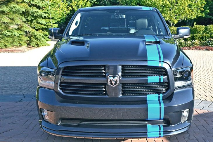 dodge ram 1500 von mopar tuning magazin. Black Bedroom Furniture Sets. Home Design Ideas