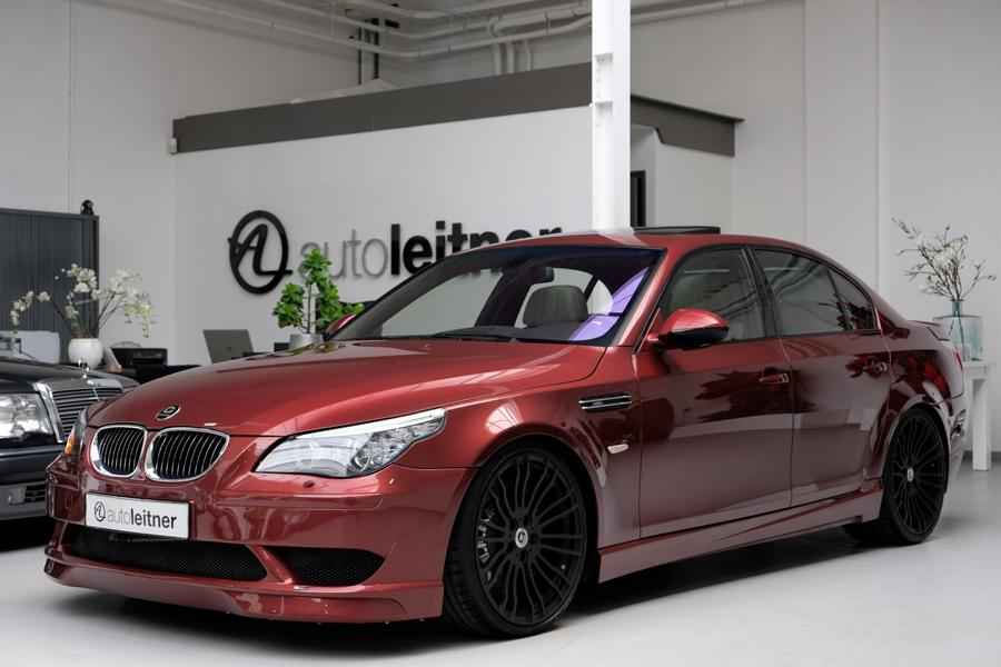 G Power Hurricane RS BMW E60 M5 Limousine Kompressor 4 820PS im BMW E61 M5 Touring von G Power!