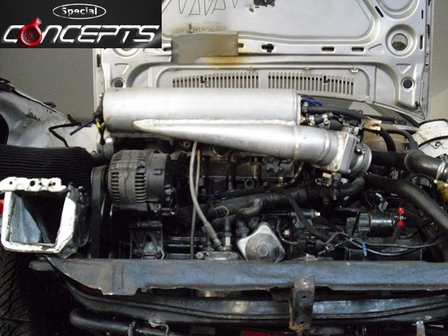 GOLF 2 VR6 TURBO 4MOTION71 Special Concepts Tuning am GOLF 2 VR6 TURBO 4MOTION