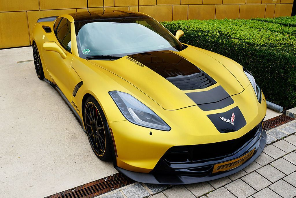 GeigerCars C7 Stingray 1 GeigerCars mit 590PS Corvette C7 Stingray!