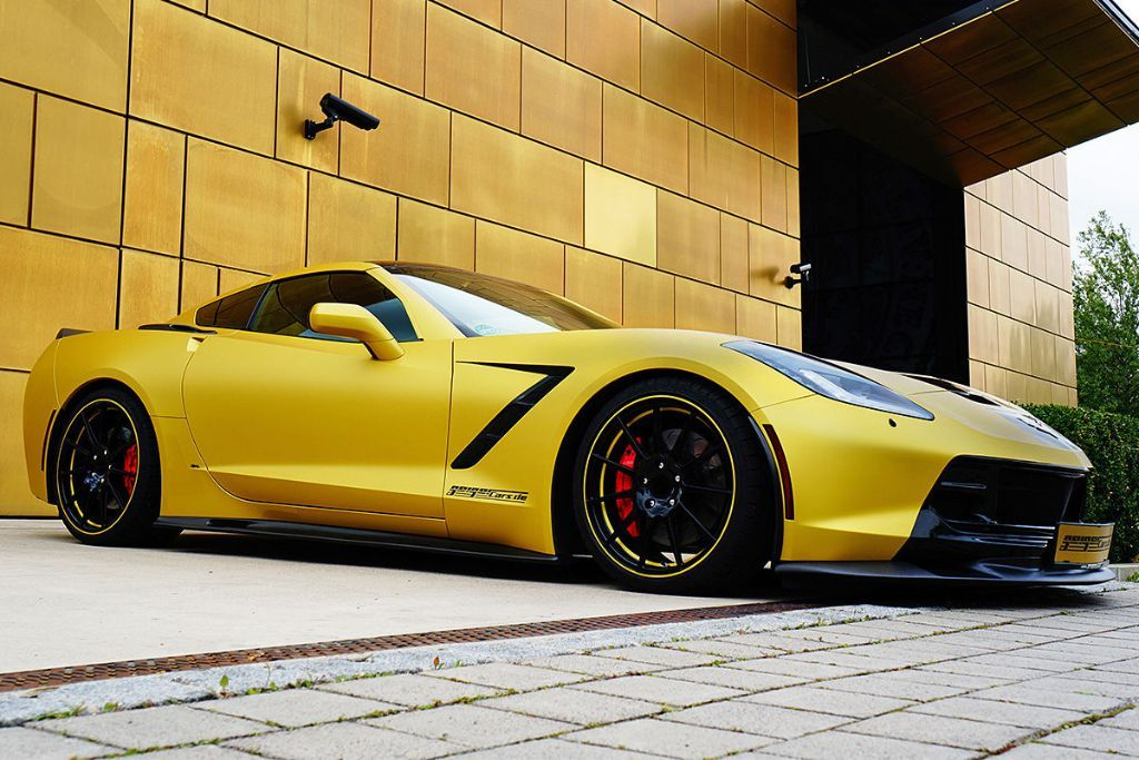 GeigerCars C7 Stingray 2 GeigerCars mit 590PS Corvette C7 Stingray!