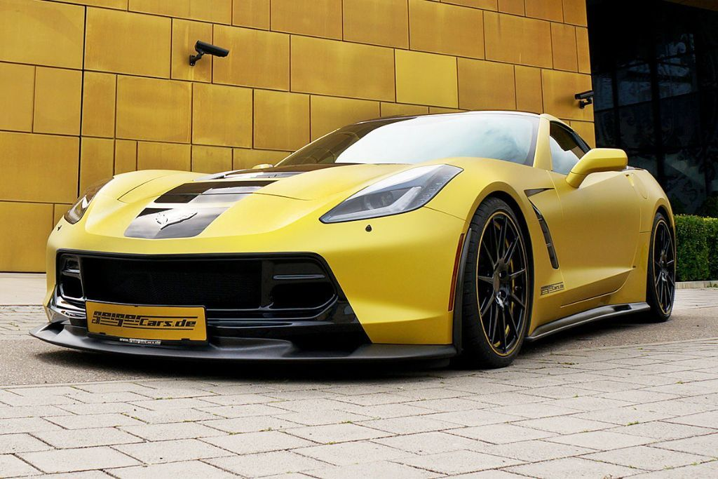 GeigerCars C7 Stingray 4 GeigerCars mit 590PS Corvette C7 Stingray!