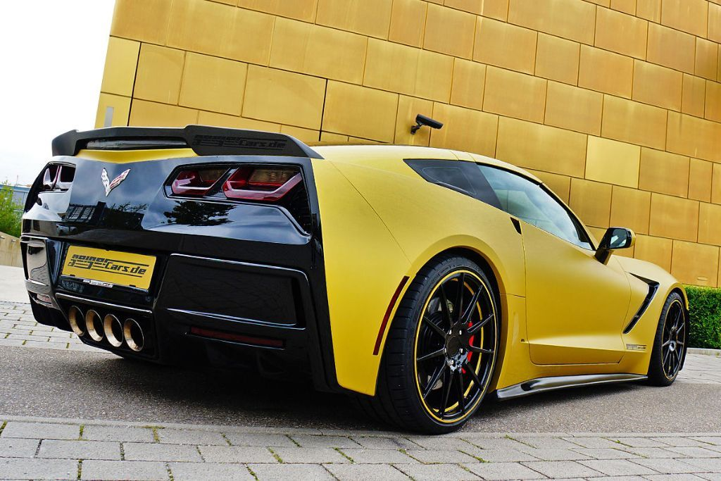 GeigerCars C7 Stingray 6 GeigerCars mit 590PS Corvette C7 Stingray!
