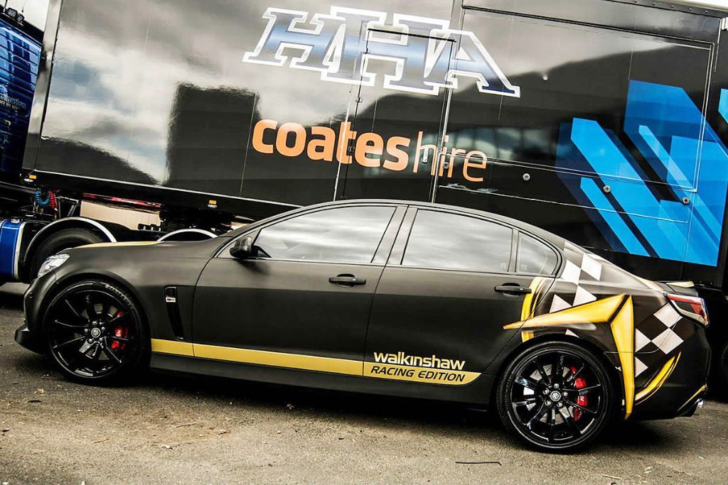 Holden Commodore VF Racing Edition Walkinshaw Racing 2 Walkinshaw Racing tunt seltenen Holden Commodore VF