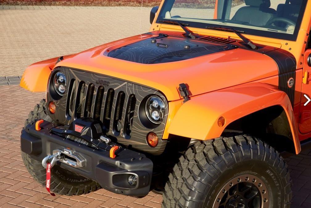 Jeep Wrangler MOJO 7 MOJO Jeep Wrangler! Extremer Oranje...!