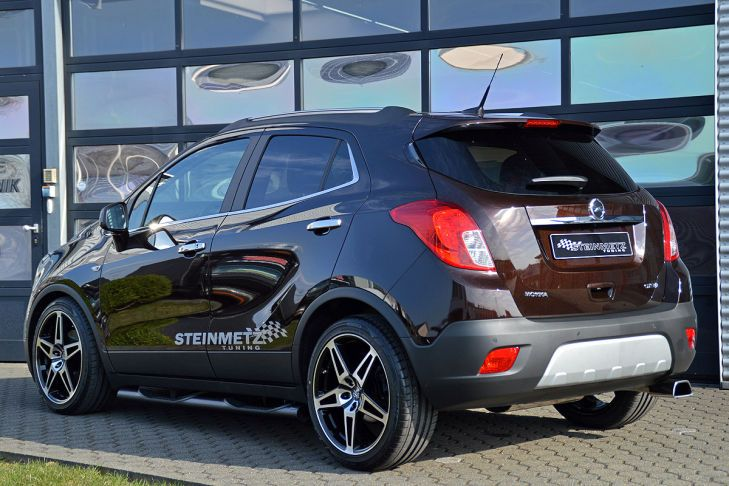 opel mokka von steinmetz tuning magazin. Black Bedroom Furniture Sets. Home Design Ideas