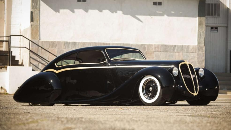 black perarl rd costums 1 1948er Jaguar getunt von RD Kustoms