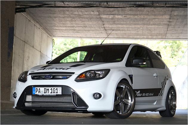 Ford Focus RS von Wolf Tuning  > 400PS und Allrad!