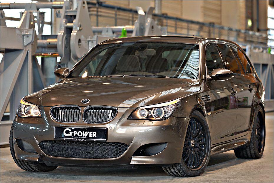 g power BMW M5 1 820PS im BMW E61 M5 Touring von G Power!