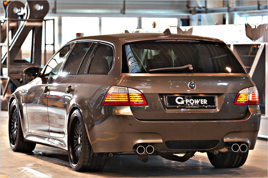 g power BMW M5 3 820PS im BMW E61 M5 Touring von G Power!