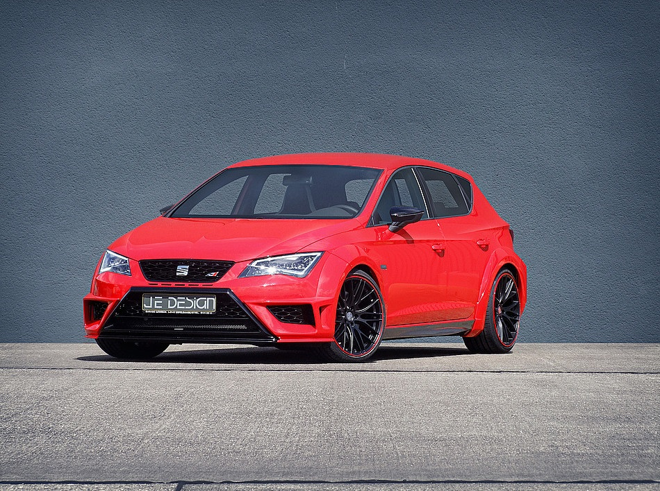 seat leon cupra 5f von je design magazin. Black Bedroom Furniture Sets. Home Design Ideas