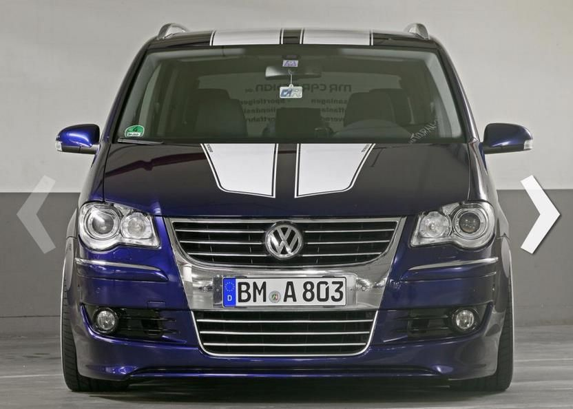 vw touran mr card design 2 Flotter VW Touran getunt von MR CAR DESIGN