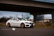 2015 mercedes c300 pur wheels 2 190x127 Mercedes C Klasse W205 mit PUR Wheels RS04