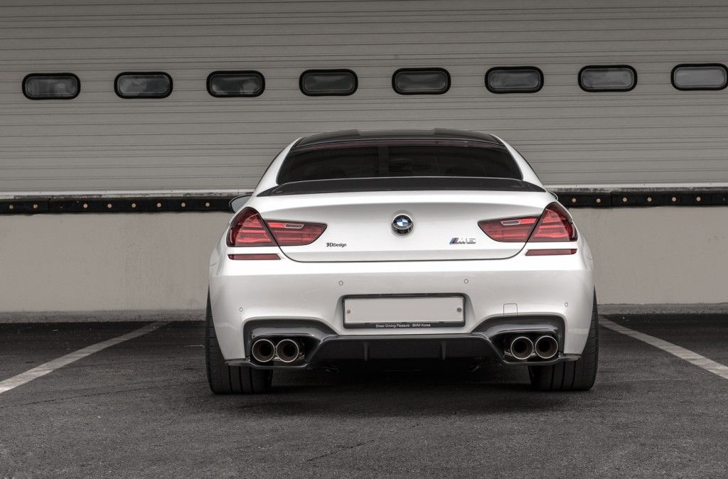 BMW M6 Gran Coupe With 3D Design 2 BMW M6 Gran Coupé mit Tuning von 3D Design