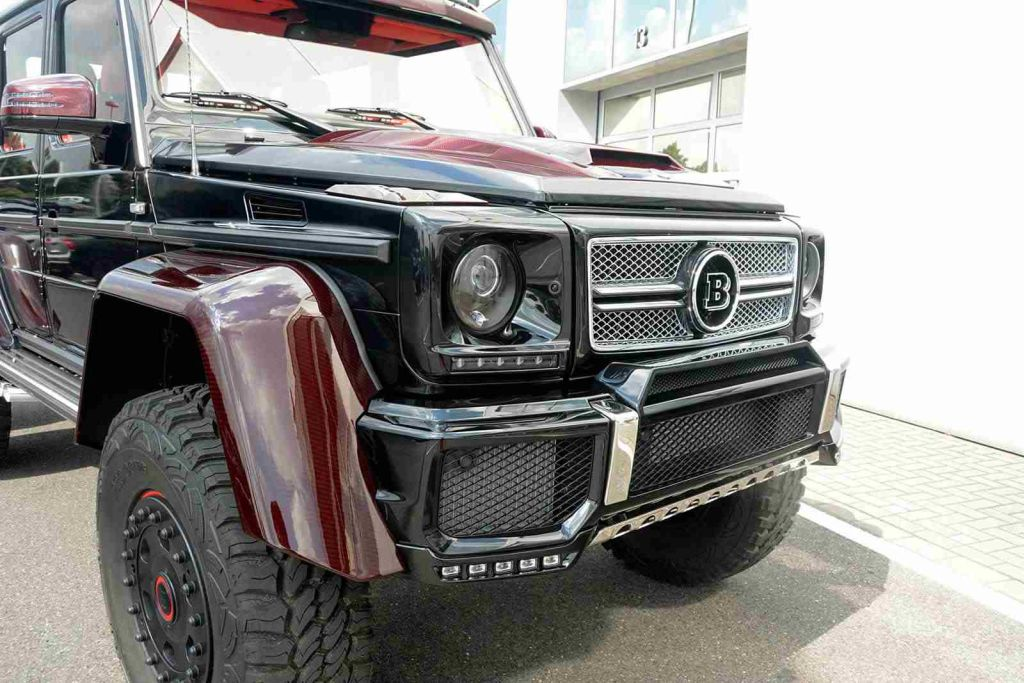 Mercedes G63 Amg 6 6 Reissued By Brabus