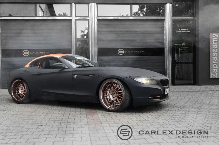 Bmw Z4 E89 Mis Au Point Par Carlex Design Tuningblog